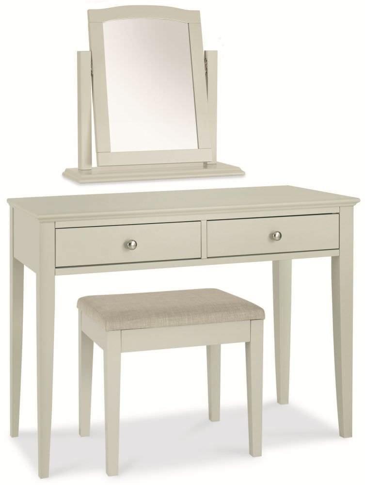 Oakham Grey Dressing Table Mirror   PORTESS