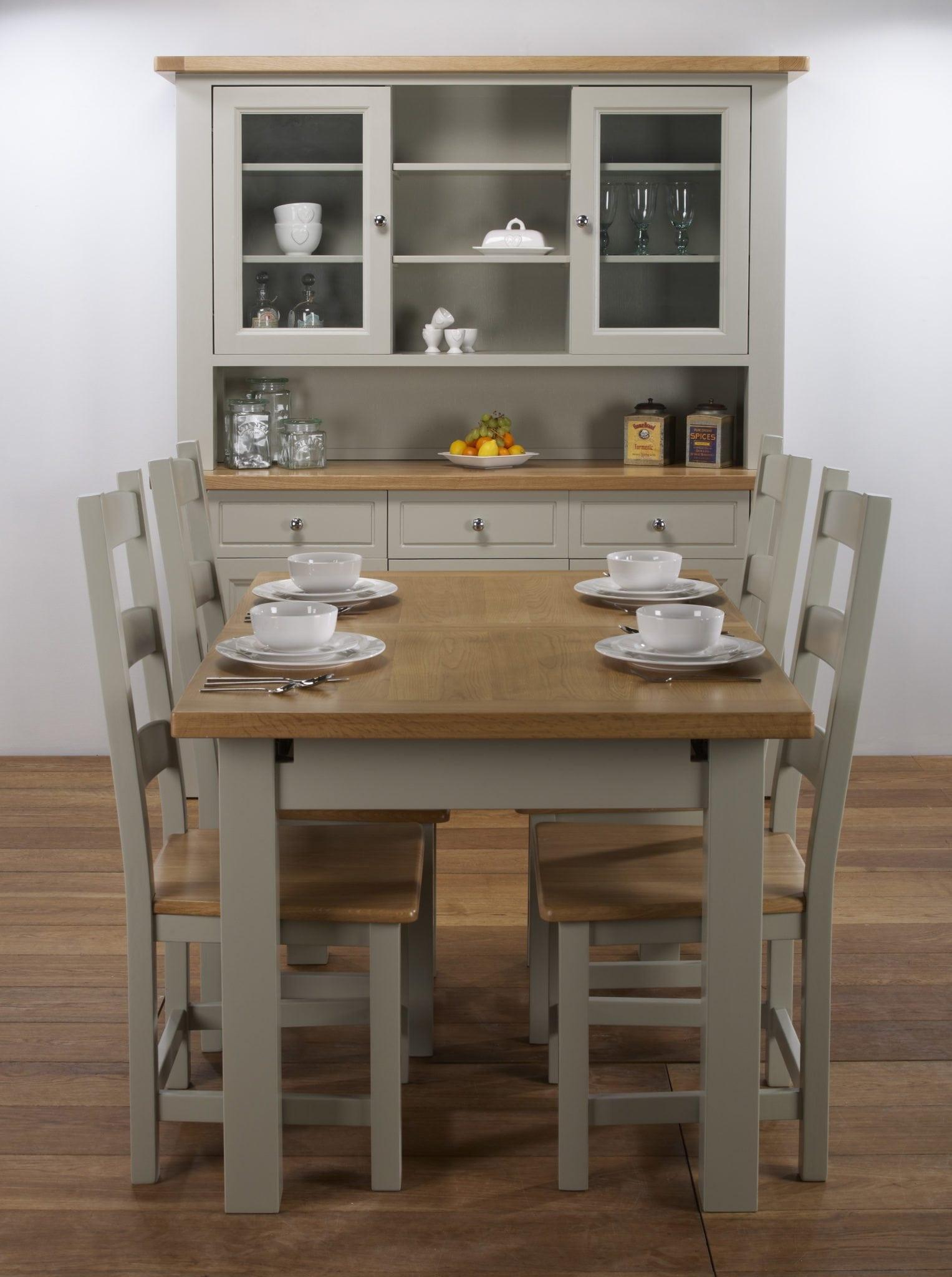 Brampton cm extending table chairs portess
