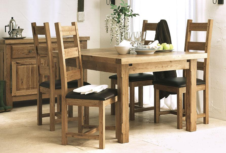 Wisteria 150cm Twin Extending Table 6 Chairs Portess