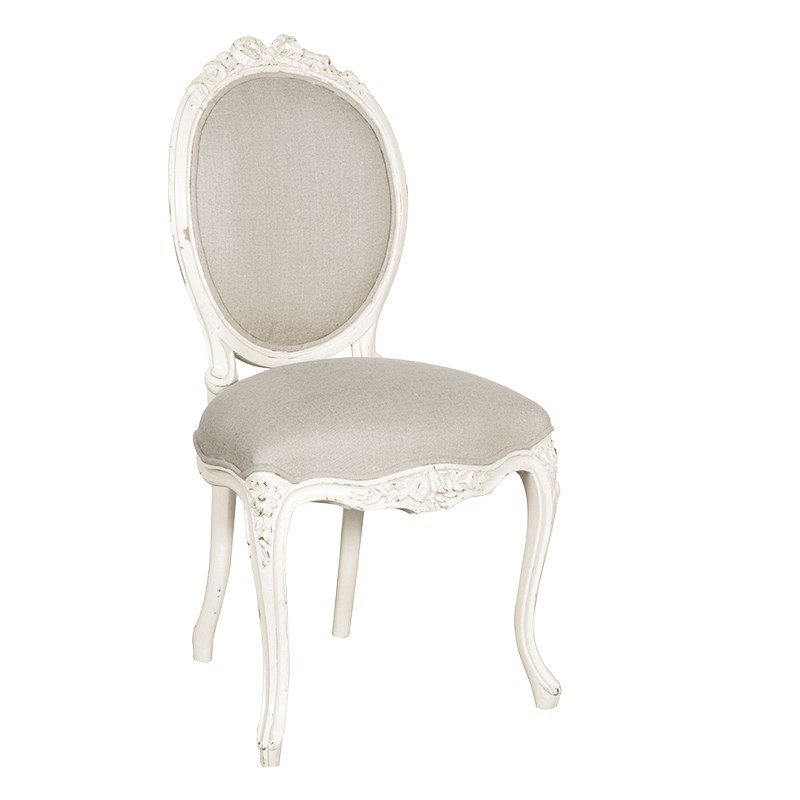 Chateau Ribbon Chair Linen Upholstered