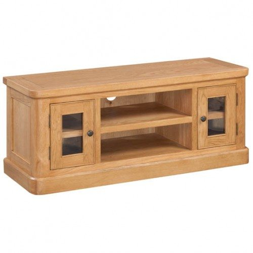 Epping Oak Large Tv Unit