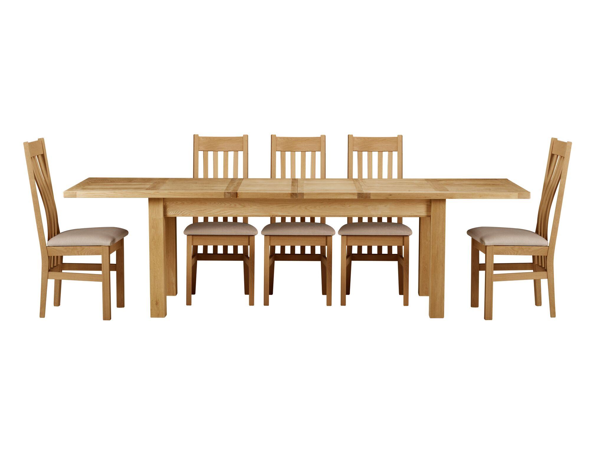 Brampton Oak 20m Extending Table