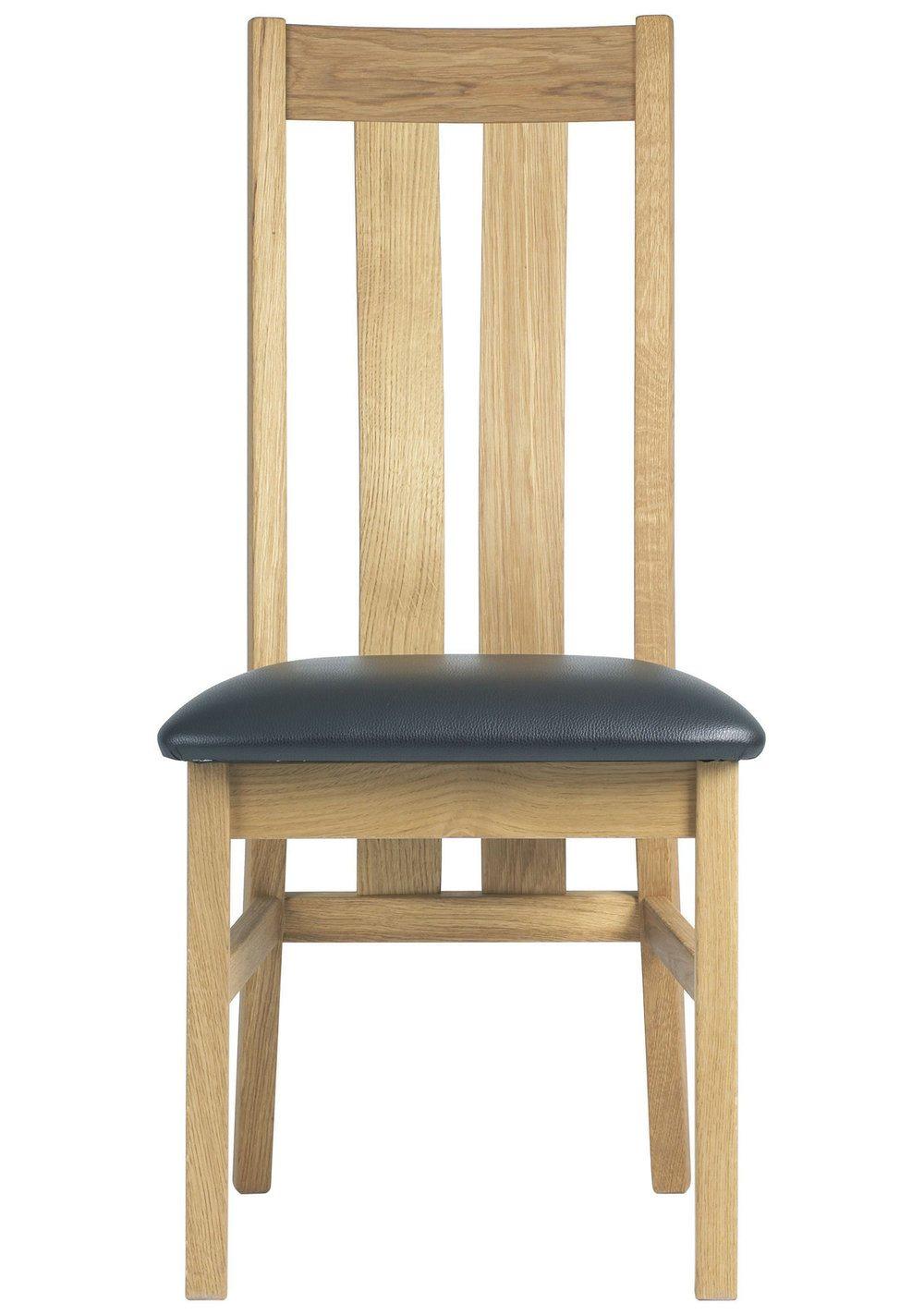 Brampton twin slat back chair portess