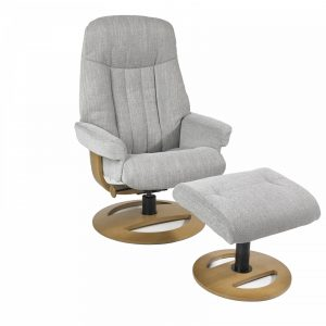 Incredible The Athens Swivel Recliner And Stool Portess Alphanode Cool Chair Designs And Ideas Alphanodeonline