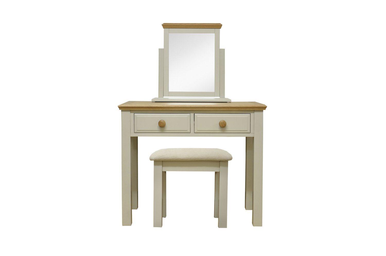 Stamford Dressing Table, Mirror U0026 Stool Package