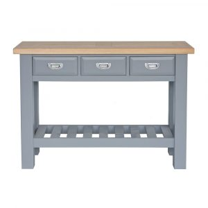 The genoa range oyster grey portess for Dining room tables the range