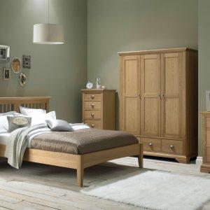 Harper Oak Bedroom