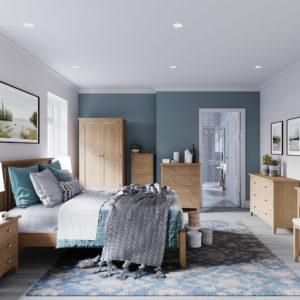 Georgia Oak Bedroom
