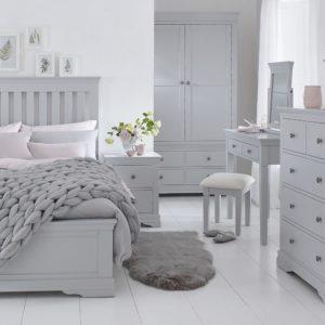 Canterbury Grey Bedroom